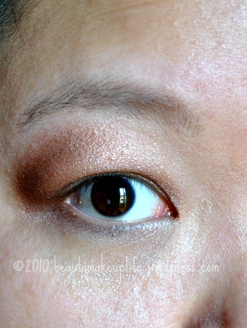Makeup tutorial shimmery browns panacea magazine with eyeliner baditri Images