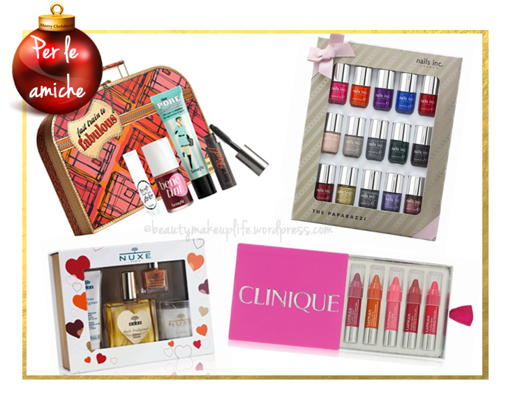 Natale 2012 idee regalo amiche beautymakeuplife for Regali per