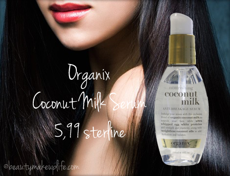 Best of 2012 capelli - Organix Coconut Milk Serum