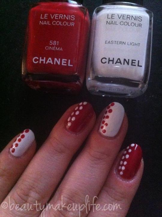 Chanel: Nail Art a Pois
