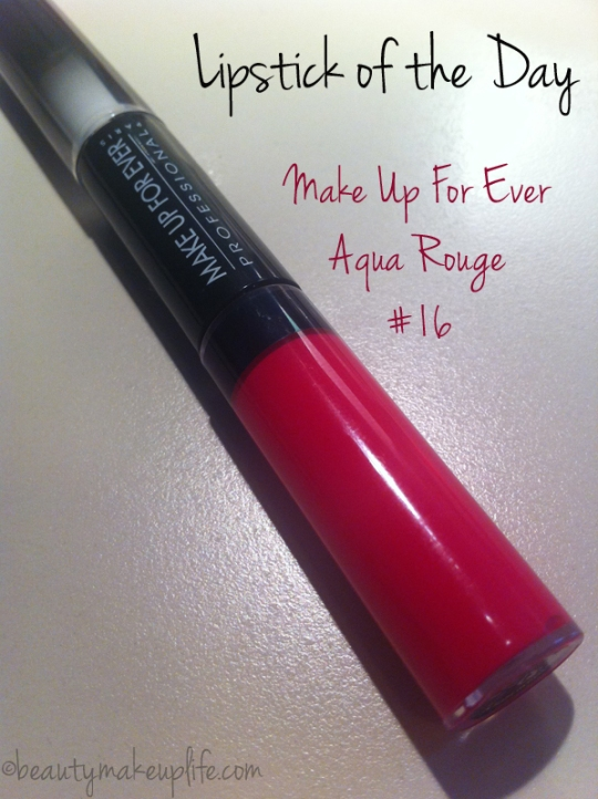 MakeUpForEver, Aqua Rouge 16