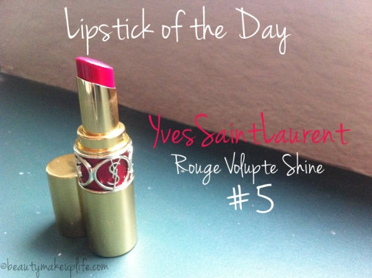 Lipstick of the Day: Yves Saint Laurent