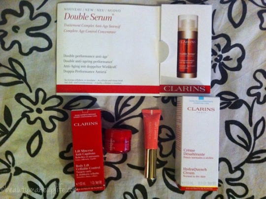Clarins prodotti 2013