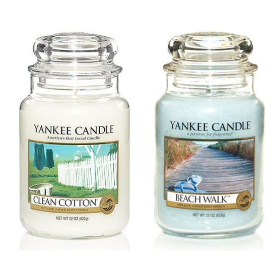 yankee candle aromaterapia in casa